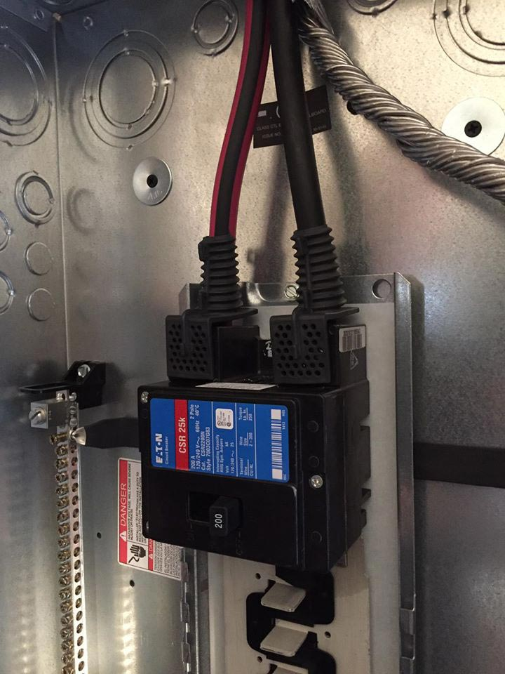 Surge protection installation ct